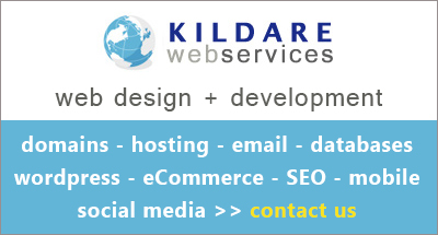 Kildare Web Services Advert 001