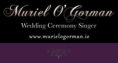 Muriel O'Gorman Wedding Ceremony Singer