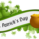 """St Patrick's Day Parade: Meet up at Spin Bridge at 12.45pm Official Theme: """"Back to the Future"""" Enjoy – be colourful & noisy Happy St. Patricks Day"""
