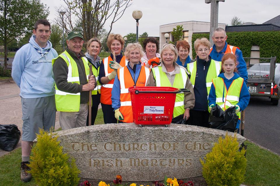 cleanup-at-ballycane-some-tidy-towns-volunteers