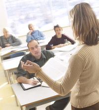 Adult Education Class In a society, which changes rapidly, it is essential ...