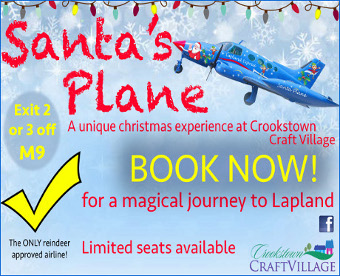 Santa's Plane at Crookstown Craft Village