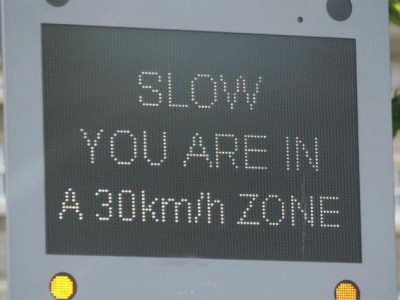 Public Consultation - 30kph Speed Limit