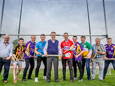Davy Russell and All-Star Line-Up Hurling for Cancer Research