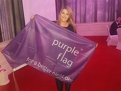 Naas Seeks Purple Flag
