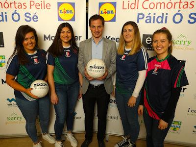 Kildare's Sarsfield Ladies at 31st Páidí Ó Sé Football Festival