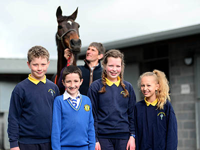 Racing Education Day at Naas Racecourse
