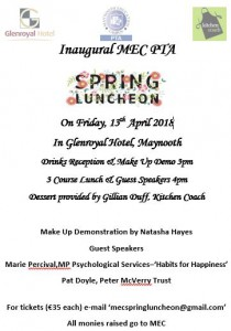 Spring Luncheon Poster 2018